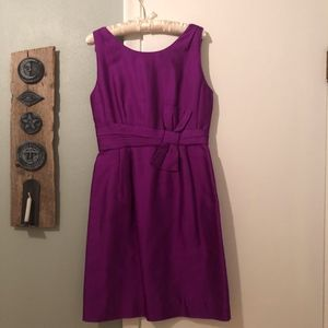 Purple Kate Spade Bow dress
